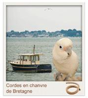 cordes en chanvre et coton pour perchoirs de perroquets et perruches