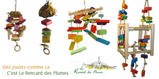 Nouveaux jouets pour perroquets et perruches
